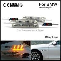 2pcs car FENDER SIDE MARKER LIGHT LAMP fit for BMW E90 E91 E92 E93 E82 E88 E60 E61 12v