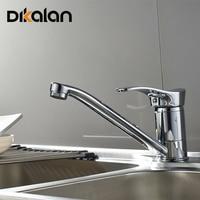 Dikalan Classic Rotatable Proboscis Kitchen Faucet For Steel Basin Mixer Cold And Hot Kitchen Tap Torneiras