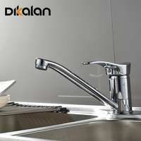 Dikalan Classic Rotatable Proboscis Kitchen Faucet For Steel Basin Mixer Cold And Hot Kitchen Tap Torneiras