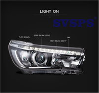High Quality Car Styling Left Right Headlight Head Lamp H7 Xenon HID Lamp For Toyota Revo 2016 2017