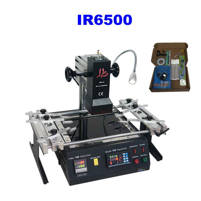 Free shipping by DHL Latest Released LY IR6500 BGA Soldering Station for laptop mainboard repairing,better than achi ir6500