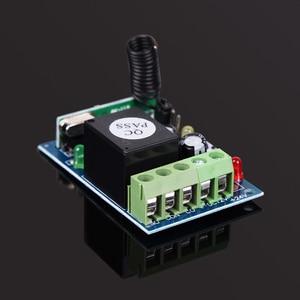 Image 5 - ホット433 mhz dc12v 1 controle remotoチャンネル学習コードワイヤレスリモートコントロールリレーモードuzaktan kumanda