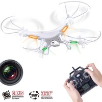 Updated Version Syma X5C X5C 1 2.4G 6 Axis GYRO HD Camera RC Quadcopter RTF RC Helicopter with 2.0MP Camera