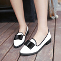 New Fashion british style bowtie pointed toe women flats woman flat shoes ballet flats for ladies