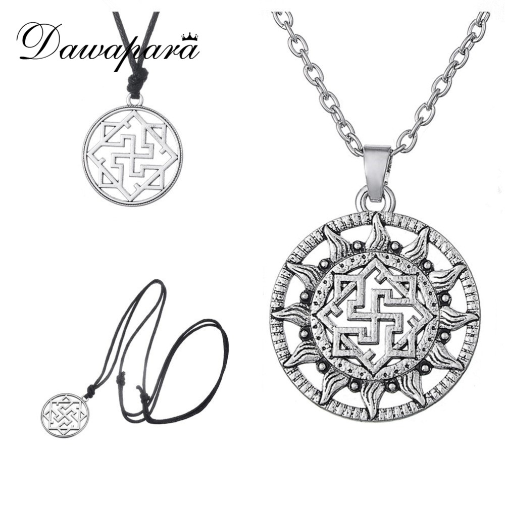 Dawapara Valkyrie Symbole Slavic Pendant Viking Nordic Amulet Viking Norse Jewelry Scandinavian Fashion Ethnic Necklace Woman