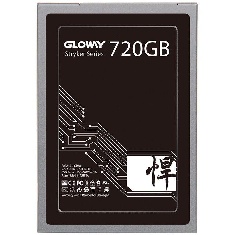 Gloway vente 2.5 SATA III 6 GB/S SATA 3 hd SSD 480 GB 240 GB 2 to disque dur à semi-conducteurs disque dur SATA3 SSD 720 GB livraison gratuite - 4