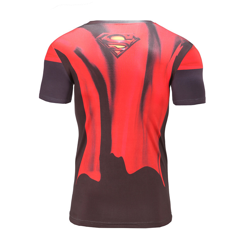 Καλοκαιρινό Fitness T Shirt 3D Τυπωμένα T-Shirts - Ανδρικός ρουχισμός - Φωτογραφία 3