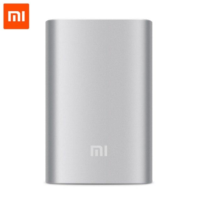 Xiaomi Power Bank 10000mAh внешний аккумулятор для мобильных телефонов Powerbank 18650 портативное зарядное устройство аккумулятор внешний