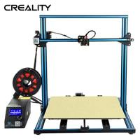 Big Size CREALITY 3D Large Printing Size 500*500mm CR 10 S5 Dua Z Rod Filament Detect Sensor Resume Power Off 3D Printer
