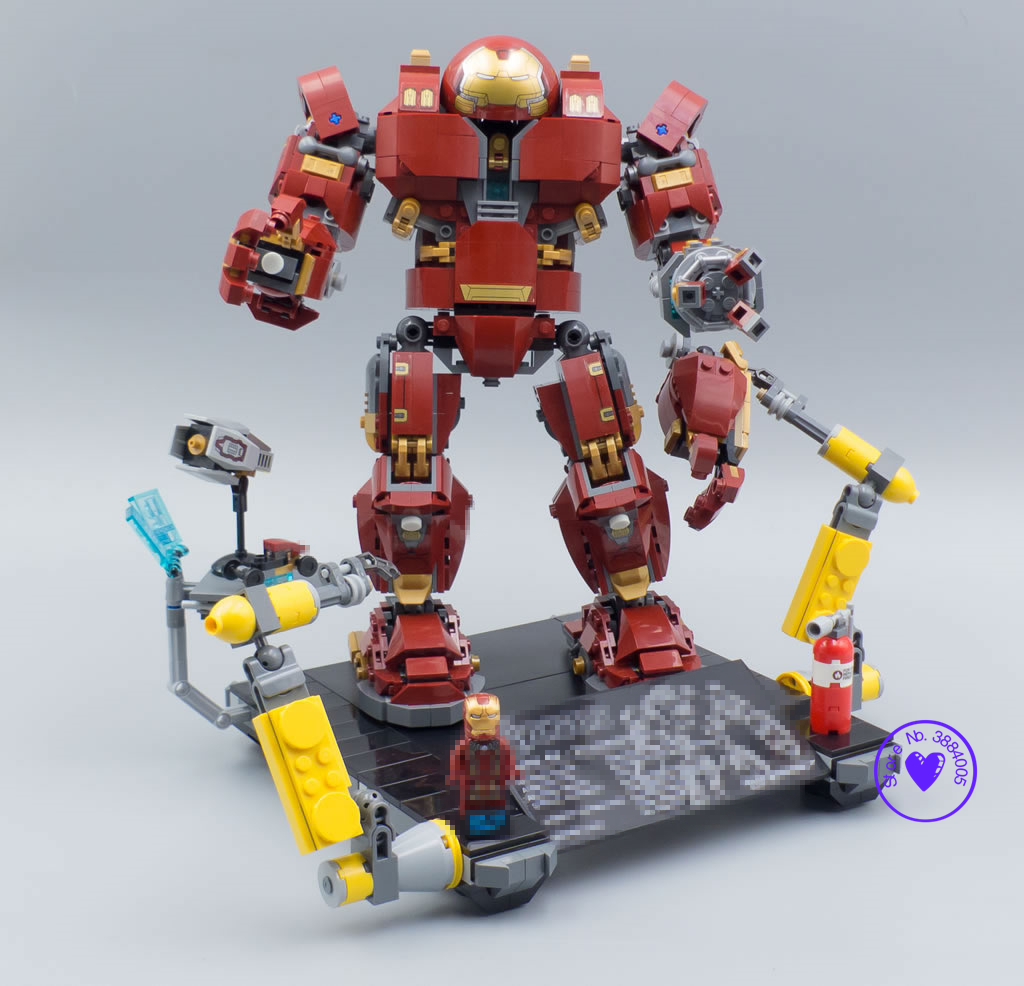 New Super heroes hulkbuster infinity wars compatible legoings avengers marvel Iron Man Anti Hulk Building Bricks Blocks 76105 new super heroes marvel iron man fit legoings avengers hulkbuster infinity war figures 76104 building blocks brick kid toy gift