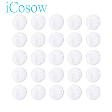 iCosow Reusable Makeup Remover Pads 10 Pcs, Washable Organic Bamboo Cotton Rounds, Toner Pads, Facial Soft Cleansing Wi