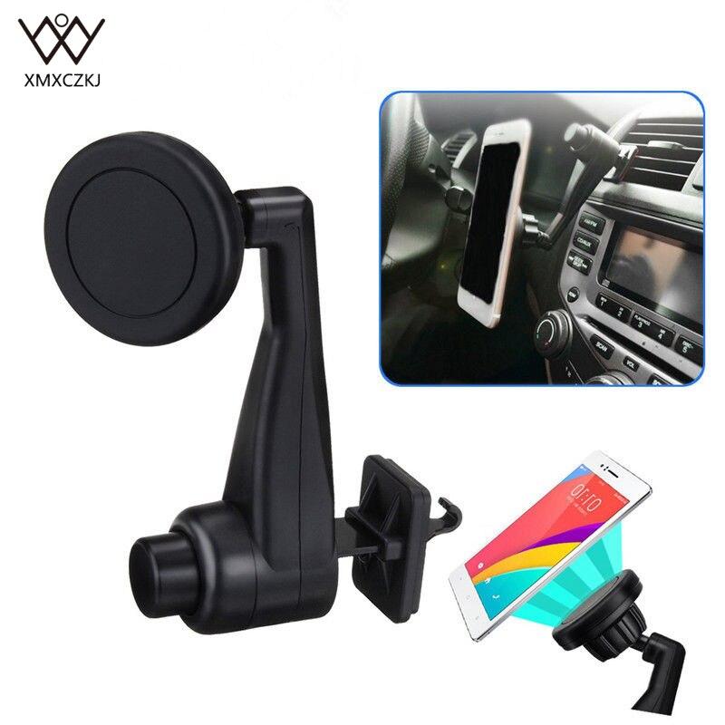 Plastic universal XMXCZKJ car phone holder adjustable air vent mount holder for mobile phone  ND-AVHM015-A mobile phone car vent holder