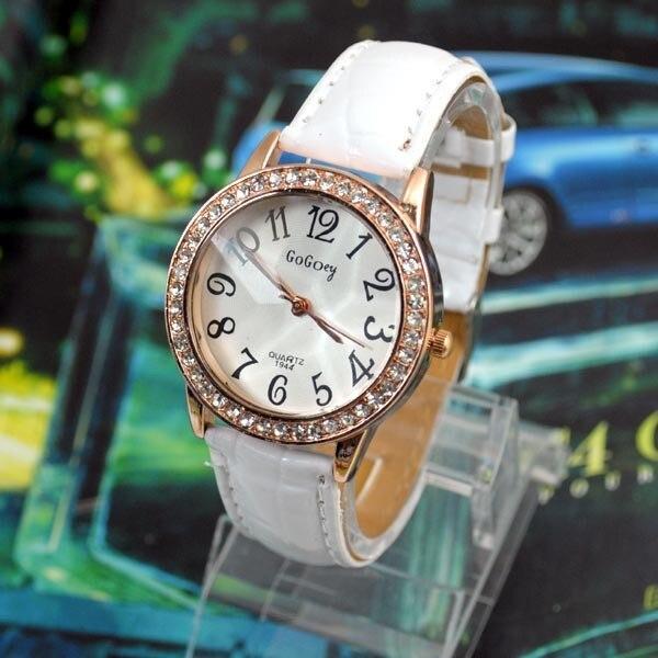 d3780c76660b Regalo de Moda de lujo Relojes Vestido de Las Mujeres rhinestone Relojes de  Cuarzo Reloj Mujer