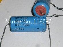 [BELLA]SPRAGUE U.S. 39D red head series 400UF 75V cathode Need–10pcs/lot
