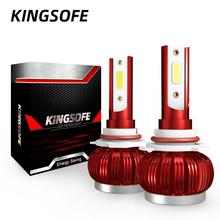 2Pcs Universal Car Headlight Bulbs 36W H1 H4 H7 H11 9005 9006 Light Auto 3800LM Styling 6000K LED Accessories