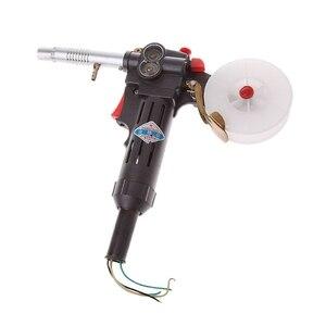 Image 3 - NBC 200A MIG لحام بندقية بكرة بندقية دفع سحب المغذية شعلة لحام بدون كابل