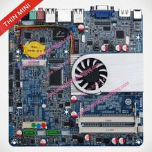 Dultra-thin2500 motherboard thin mini itx d2500 industrial motherboard one piece machine lvds