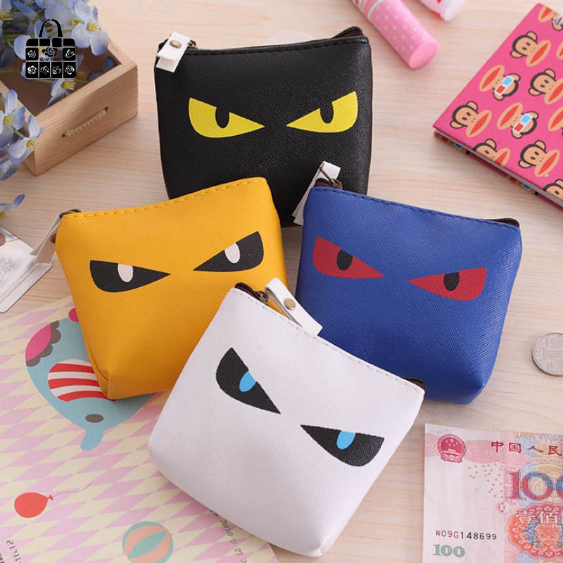 ROSEDIARY Women man boys fashion cartoon meow star people PU zipper zero wallet Coin Bag lady handbag Pouch Wallet Purse bag rosediary cute owls pu leather waterproof zipper coin purse women clutch lady wallet phone pocket pouch bag keys cosmetic holder
