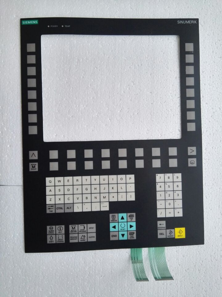 OP012T 6FC5203 0AF06 1AA0 Membrane Keypad for HMI Panel repair do it yourself New Have in