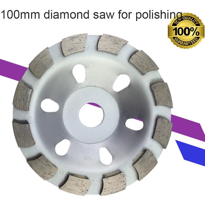 100mmコア穴16mmダイヤモンドブレードソー、大理石の石材切断用
