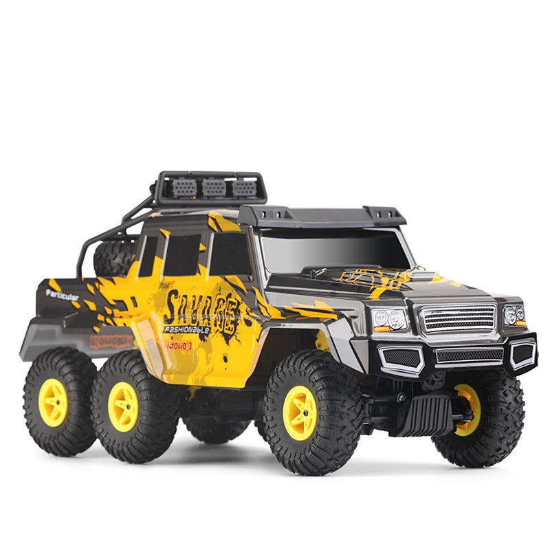High Speed remote control RC Racing car toy 18629 Bigfoot Rock Crawler RC Climber Monster Truck with LED lights kids best gift
