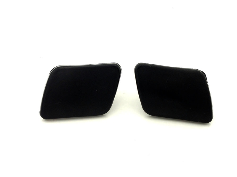 2 Pcs/Pair Front bumper headlamp washer nozzle spray cover cap for VW Volkswagen Golf 4 IV Mk4 1998-2006 soarhorse for subaru forester 2005 2008 front bumper headlight washer spray nozzle cover headlamp washer jet cap