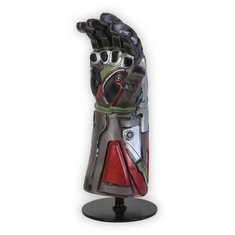 [New] Marvel Avengers 4 Final battle Iron Man gem Gloves model Action Figure Toy latex decoration collection model best gift