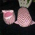 Bautizo Blanco puro perlas Lindo por encargo DIY boda inspirada recién nacido calzado prewalkers princesa pequeños zapatos de niña