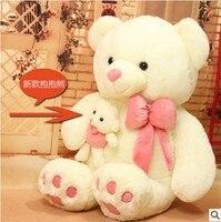 Freies verschiffen 55 cm teddybär plüschtier Liebe tragen plüschtier Geschenk für liebhaber weihnachtsgeschenk