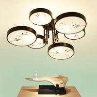 Chinesischen stil 6 köpfe decke lampe Cafe licht zimmer gemütlich schlafzimmer studie originalität retro restaurant beleuchtung licht ZA81540