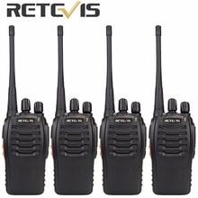 4 шт. Retevis H777 Портативная рация 3 Вт UHF 400-470 мГц ручной КВ трансивер 2 варианта CB Радио портативный рации A9105A
