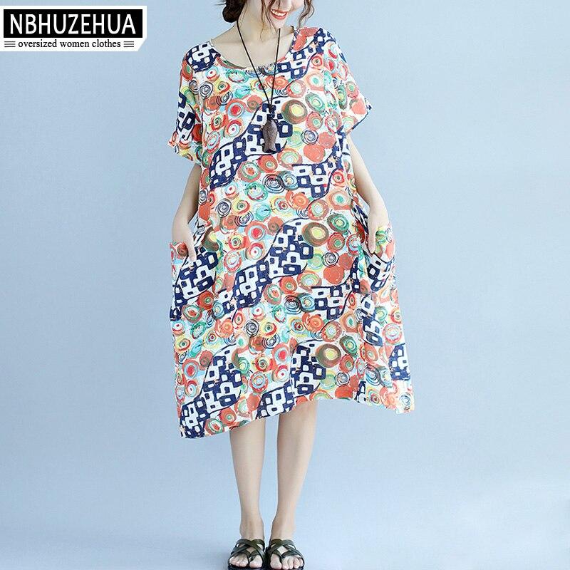 3XL 4XL 5XL 6XL 7XL font b Women b font Plus Size Dress 2017 Summer Beach online get cheap linen womens clothing aliexpress com alibaba group,7xl Womens Clothing