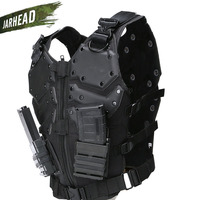 New Tactical Vest Multi functional Tactical Body Armor Outdoor Airsoft Paintball Training CS Protection Equipment Molle Vests
