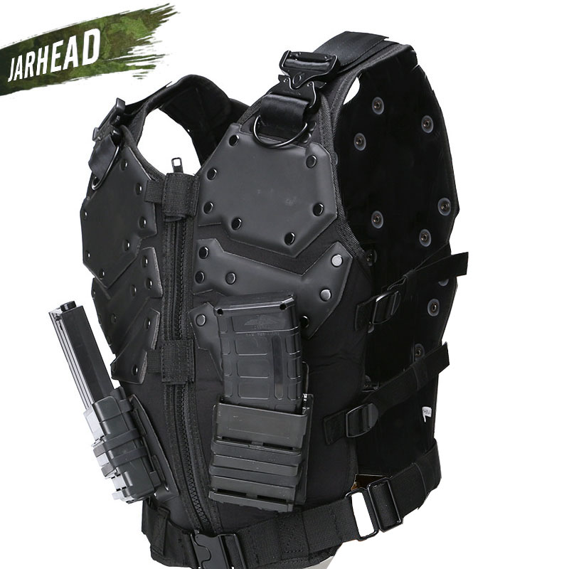 Nouveau gilet tactique multi-fonctionnel tactique armure corporelle en plein air Airsoft Paintball formation CS équipement de Protection gilets Molle