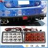 Red Lens F1 Style LED Rear Strobe Flasher 3rd Brake Light Lamp F1 Style Rear Fog