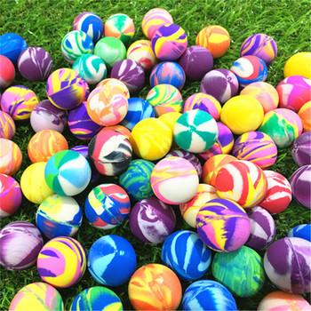 25 MM piłka kauczukowa dziecko gumowa kula bouncy zabawki 20 sztuk 30 sztuk 50 sztuk 80 sztuk 100 sztuk tanie i dobre opinie JKLYZXS over 3 years old Sport Unisex RUBBER j-Bouncy Ball piłeczka do odbijania 6 lat 25mm