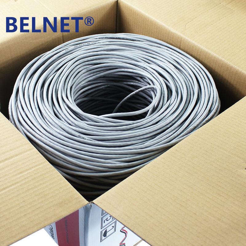 BELNET 305m 1000ft CAT5E UTP RJ45 Cable de red Ethernet Cable LAN - Cables de computadora y conectores - foto 5