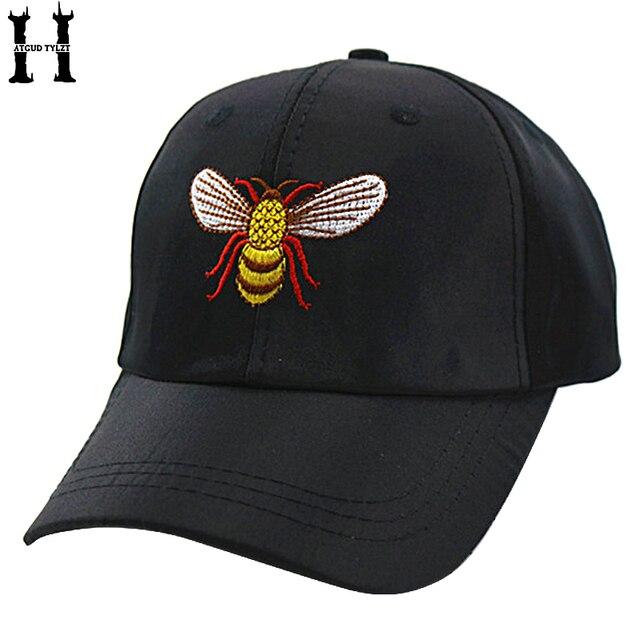 4e66093fda2 HATGUD TYLLZT 3-8 Years New Cute Cotton Embroidery Bee Design Children  Baseball Cap For Girls Snapback Caps Peaked Caps Kids Hat