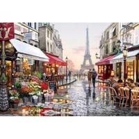 HOME BEAUTY Diamond Embroidery Kits Diy 5d Diamond Painting Mosaic Pattern Picture Of Rhinestones Crystals Eiffel