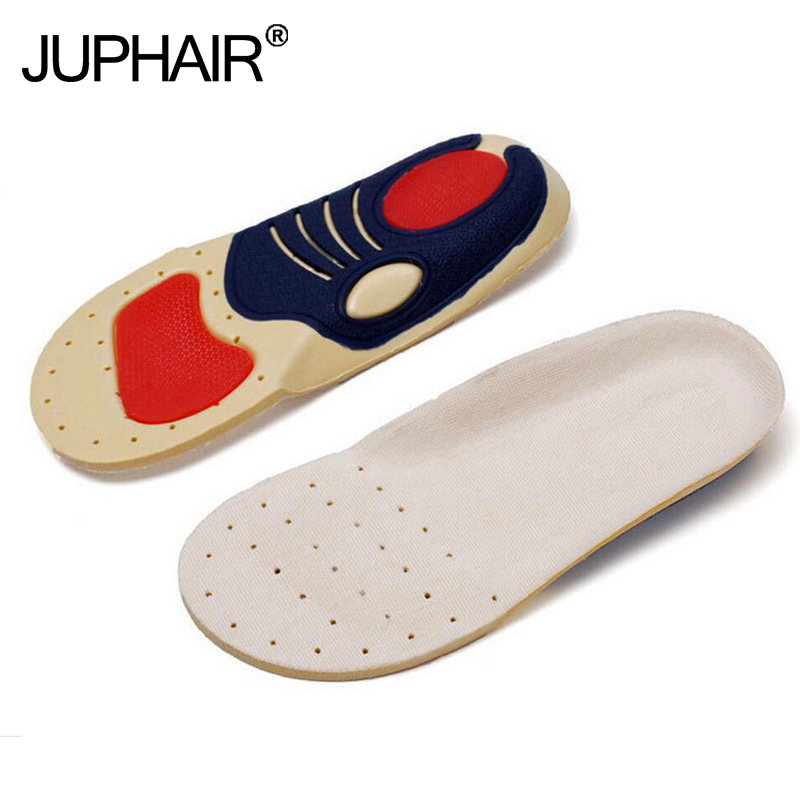 New 1 Pair Silicon Insoles Shock Absorption soft Comfortable Kids Boys Girl Childrens foot pads Care Children function Insoles
