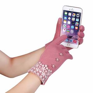 Girl Women's Winter Gloves for phone pad Mittens Touch Screen Lady's fashion Gloves