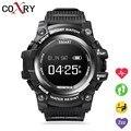 COXRY Outdoor Sport Smart Watch Men Pedometer Heart Rate Watch Vibration Waterproof IP68 Bluetooth Clock Smartwatch Android Ios
