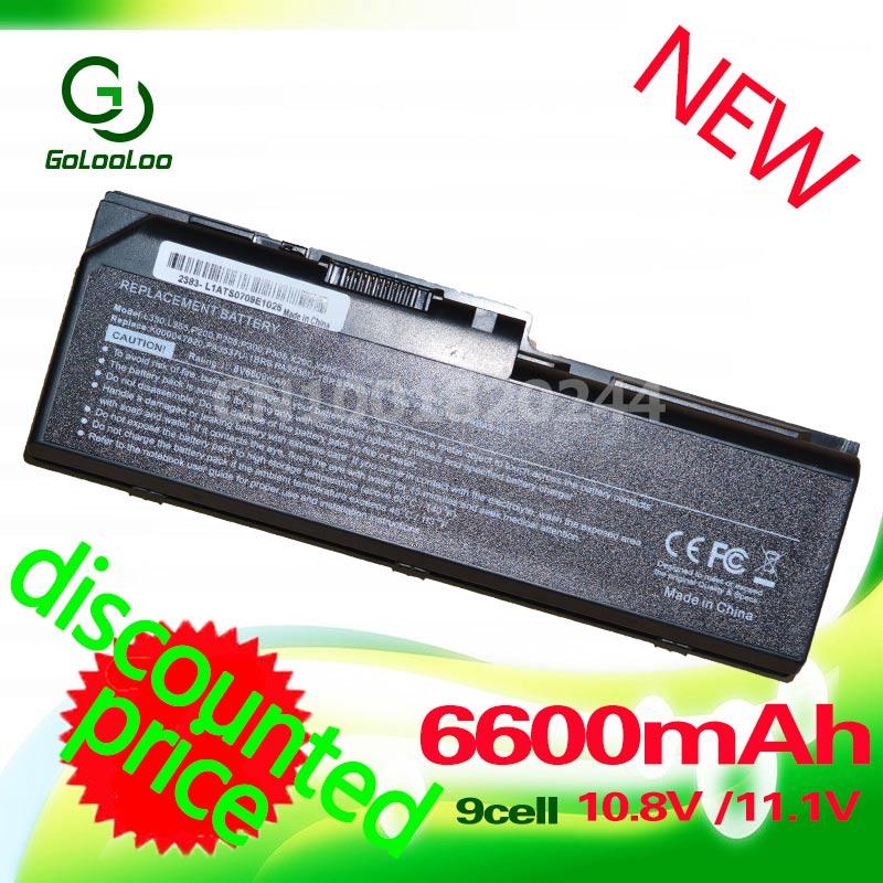 Golooloo 6600 mah laptop akku für toshiba satellite l350 l350d l355 l355d p200 p200d p205 p205d p300d p300 p305 p305d