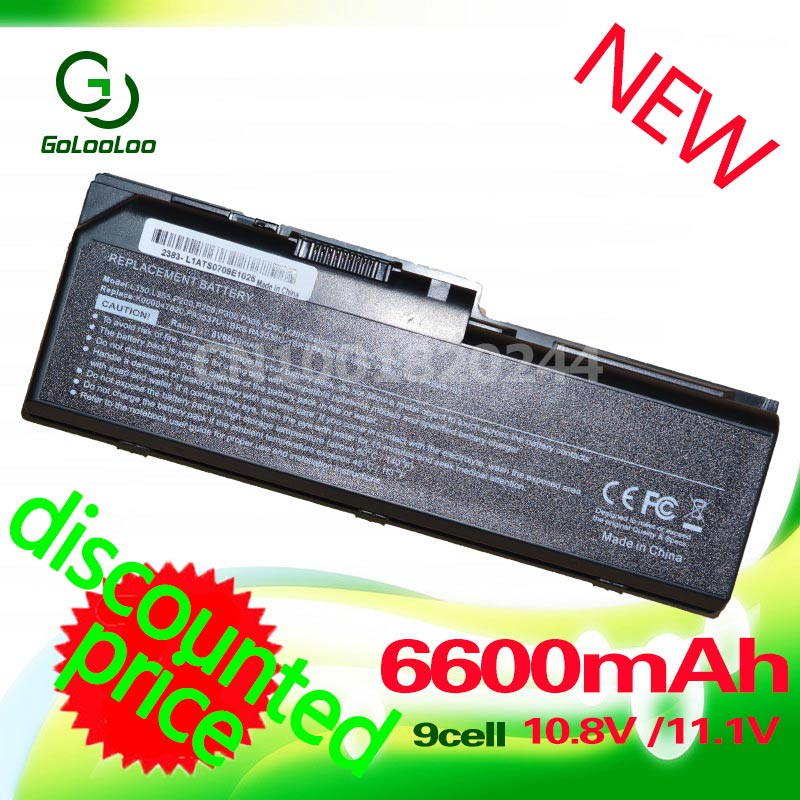 Golooloo 6600MaH Laptop <font><b>Battery</b></font> for <font><b>toshiba</b></font> <font><b>Satellite</b></font> <font><b>L350</b></font> L350D L355 L355D P200 P200D P205 P205D P300 P300D P305 P305D image