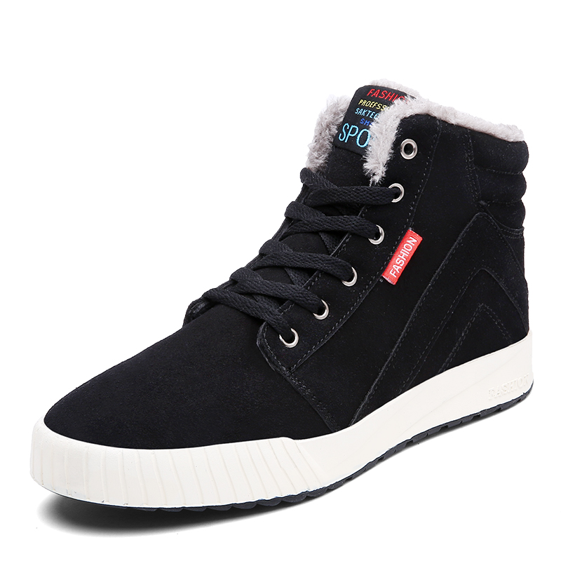 NEW Mr. outdoor sports shoes mens plush warm winter snow boots Men sneakers men Running Shoes Men size39-45