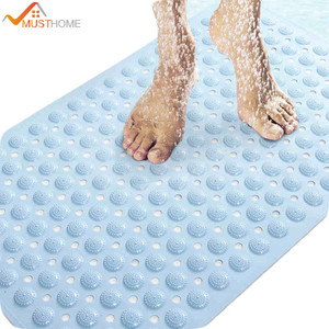 "PVC massage skid bath mat with suction cups 14.9""Wx29.1""L/38x74cm Free Shipping"