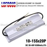 300 Вт светодио дный драйвер 10 15Sx20P Водонепроницаемый 6300mA 30 48 В 6A для 200 240 280 300 Вт ватт удара чип освещения Трансформеры Питание