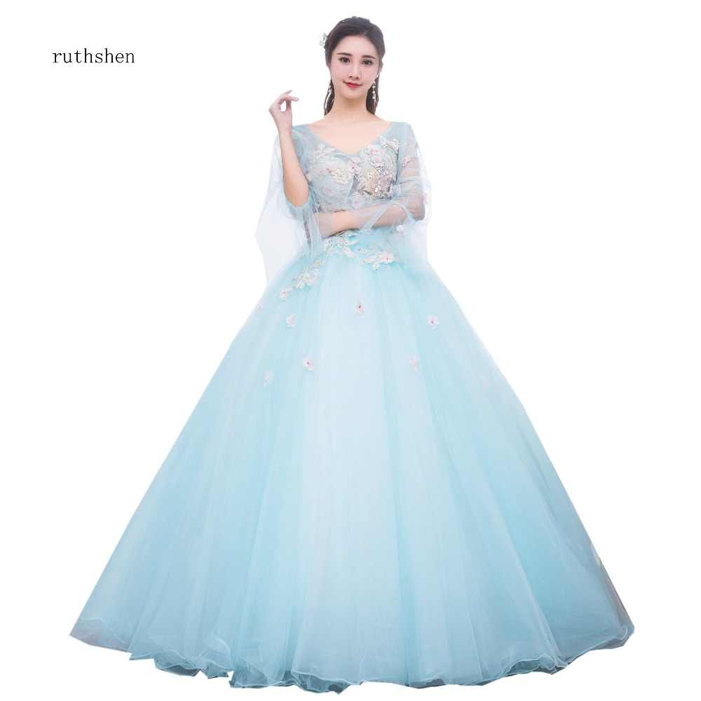 ee29bc27853 Detail Feedback Questions about ruthshen Light Blue Quinceanera ...
