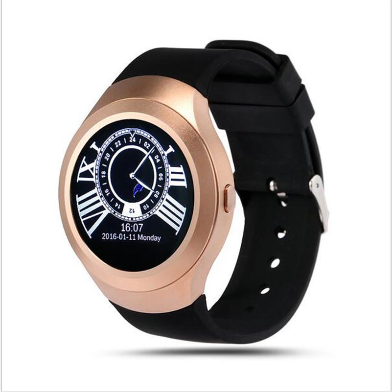 L6 Bluetooth 4 0 font b Smartwatch b font Phone Support SIM Card for Android IOS