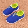 Детская обувь 2016 весна лето новый детей чистую обувь мальчиков спортивная дышащей обуви сетка летние мальчики девочки кроссовки бесплатная доставка